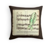 Fish czerny for example Throw Pillow