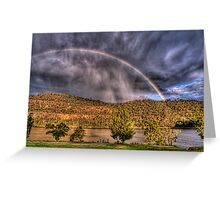 Stormy Surprise Greeting Card