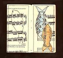 Fish above fingering by Soxy Fleming