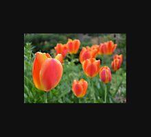 Two Tone Orange Tulips Unisex T-Shirt