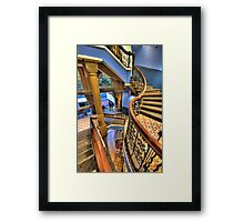 Off The Rails - QVB, Sydney - The HDR Experience Framed Print