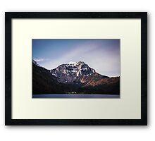 Mountainscape Framed Print