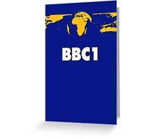 BBC 1978 Greeting Card