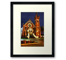 Echuca at night 2 Framed Print