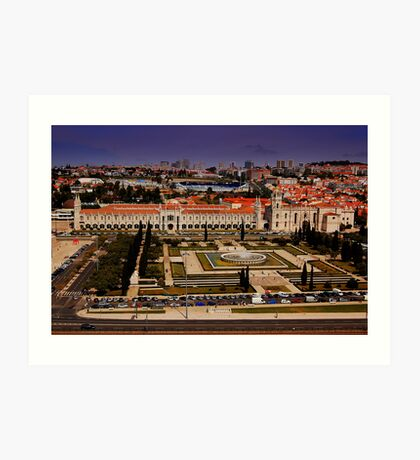 Mosteiro dos Jeronimos-Featured 6/10/09 Lisbon and Surroundings Art Print