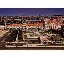 Mosteiro dos Jeronimos-Featured 6/10/09 Lisbon and Surroundings Photographic Print