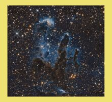 New View Of The Pillars Of Creation - Infrared - Hubble Space Telescope Kids Clothes