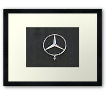 STOLEN CARS Framed Print