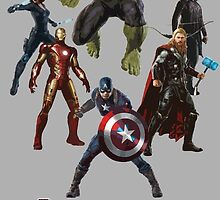 Avengers : Age of Ultron by AvatarSkyBison