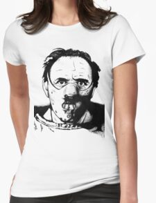Hannibal the Cannibal Womens Fitted T-Shirt
