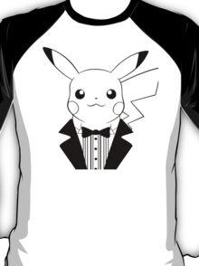 Pikachu in Tuxedo T-Shirt