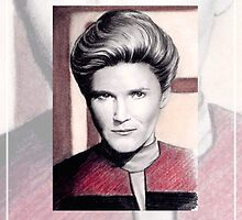 Kate Mulgrew miniature by wu-wei