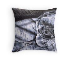 Care for a glass?  Throw Pillow