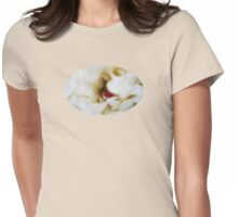 Peony Passion - JUSTART © Womens Fitted T-Shirt