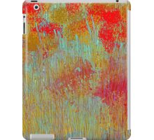 Flowers in Red and Gold iPad Case/Skin