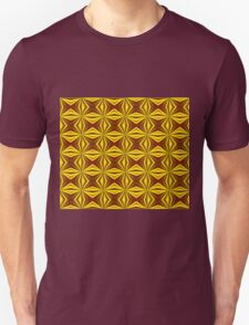 Red and Gold Christmas Abstract T-Shirt