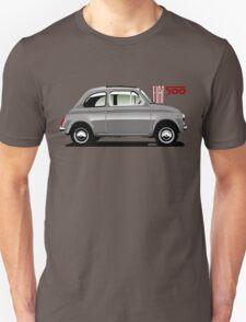 Classic Fiat 500F grey T-Shirt