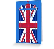 Tardish Flag Greeting Card
