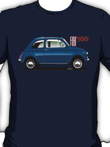 Classic Fiat 500F blue T-Shirt