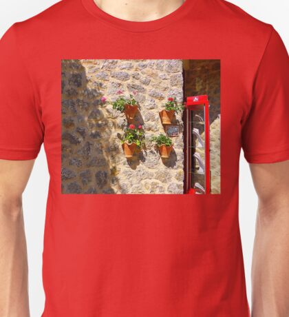 Geraniums And Necklaces Unisex T-Shirt