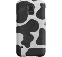 Cow Black and White Print Samsung Galaxy Case/Skin