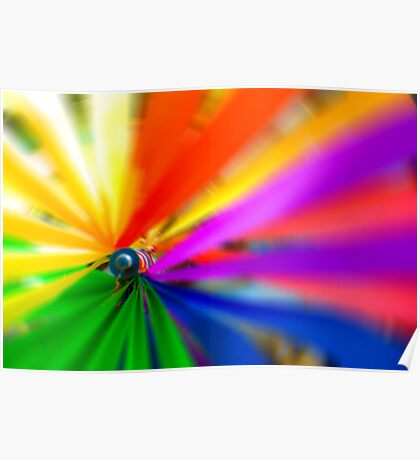 Rainbow Spin Poster