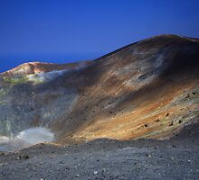 Vulcano, Italy by Willy Vendeville