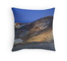Vulcano, Italy Throw Pillow