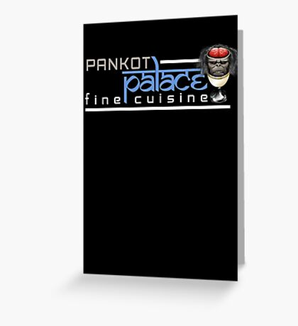 Pankot Palace Fine Cuisine Greeting Card