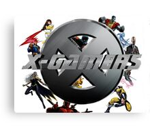 X-Gamers Assemble Canvas Print