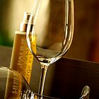 A glass of wine by Etienne RUGGERI Artwork eRAW