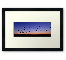 Morning Launch Framed Print