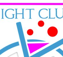 Obi-Wan Night Club Sticker