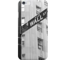 Wall Street and Broadway iPhone Case/Skin