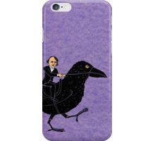 Edgar Allan Poe and Raven iPhone Case/Skin