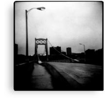 10th street bridge Canvas Print