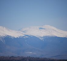Presidential Mountain Range, NH by webraggs
