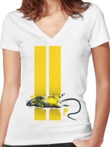 Roadkill Women's Fitted V-Neck T-Shirt