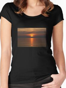 MTK Sunset Women's Fitted Scoop T-Shirt