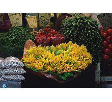Zucchini Squash Blossoms Photographic Print