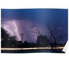 Lightning Thunderstorm 06.05.09 Poster