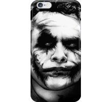The Joker - Heath Ledger  iPhone Case/Skin