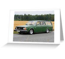 Volvo 245 Greeting Card