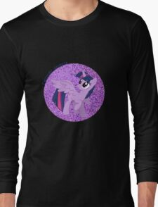 TwilightSparklew/wingsGlitter Long Sleeve T-Shirt