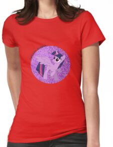 TwilightSparklew/wingsGlitter Womens Fitted T-Shirt