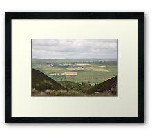 Dales Patchwork Framed Print