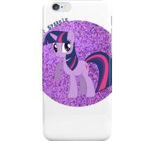 TwilightSparkleGlitter iPhone Case/Skin