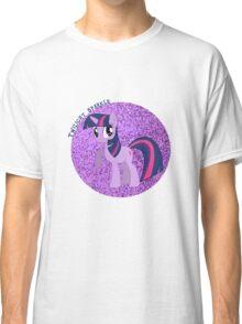 TwilightSparkleGlitter Classic T-Shirt