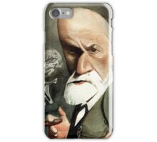 Sigmund Freud with Cigar  iPhone Case/Skin