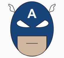 Captain America Egghead T-Shirt
